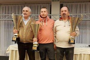 Absolútni víťazi: František Hrubý, Michal Petráš a Slavomír Konc
