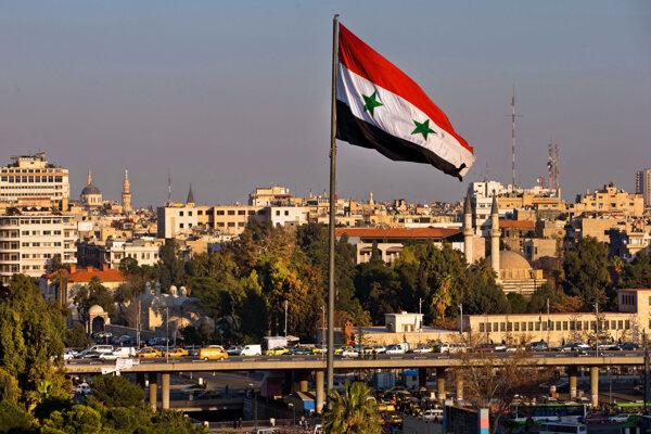 Pohľad na sýrsky Damask.