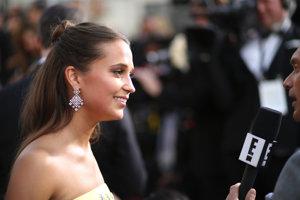 Herečka Alicia Vikander je nominovaná za najlepšiu herečku vo vedľajšej roly za film Dánske dievča.