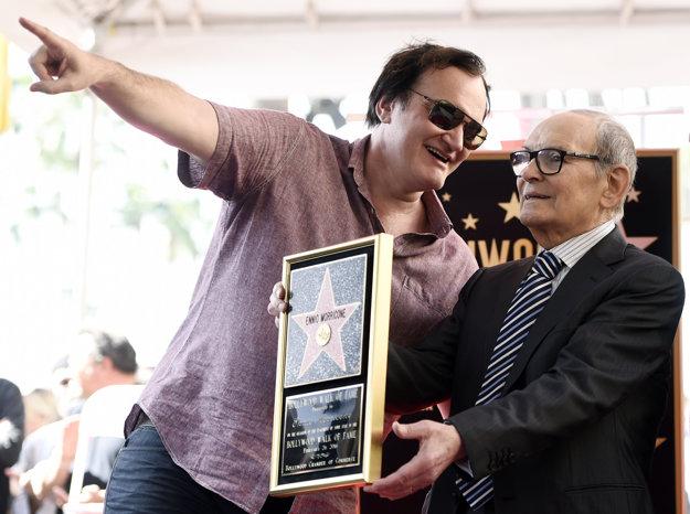 Ennio Morricone s režisérom Tarantinom.
