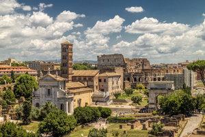 Dnes si pri prechádzkach po ruinách Forum Romanum môžete len predstavovať, ako to tam kedysi mohlo vyzerať.