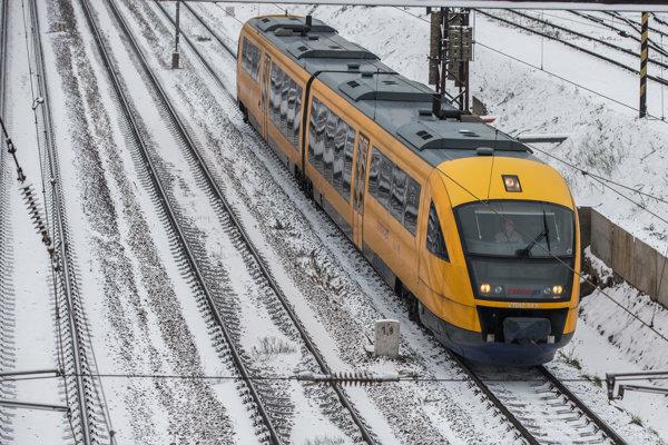 Vlak spoločnosti RegioJet (ilustračné foto.