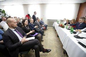 Výjazdové rokovanie vlády v Jesenskom.