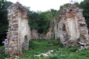 Ruiny Kostola sv. Jozefa.