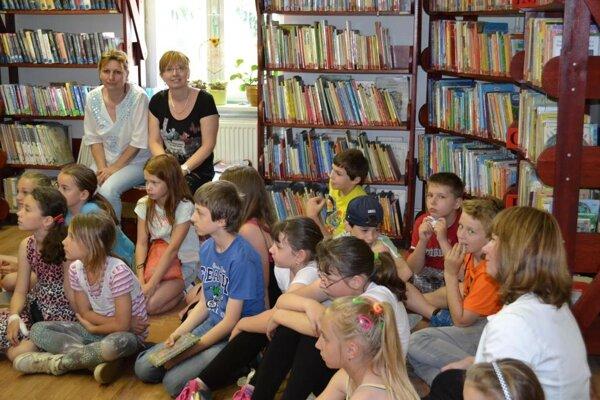 Jedna z akcií pre deti v Považskej knižnici.
