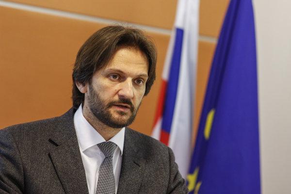 Minister Kaliňák hovoril Elektronickom trhovisku.