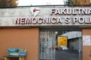 Nešťastie sa stalo vo Fakultnej nemocnici s poliklinikou v Žiline.