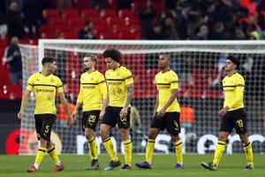 Futbalsiti Borussie Dortmund.