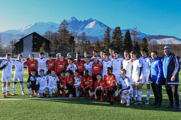 Mladí Popradčania si zahrali s rovesníkmi Manchestru United.