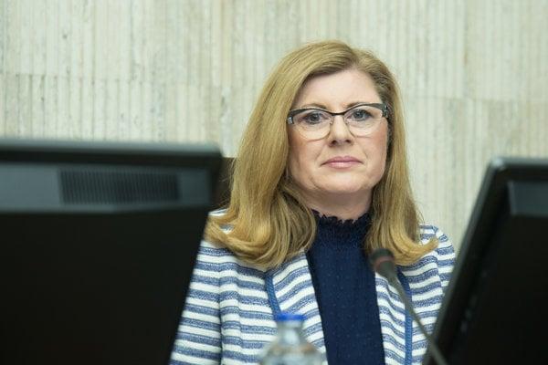 Podpredsedníčka vlády a ministerka pôdohospodárstva a rozvoja vidieka SR Gabriela Matečná.