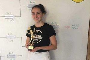 Nina Ďarmatiová po úspechu na turnaji vo Vysokých Tatrách