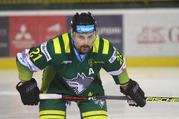 Rudolf Huna v zápase zaznamenal štyri kanadské body. (Ilustračné foto)