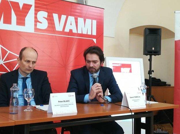 Vľavo Daniel Tomko ml. – generálny riaditeľ, TOMARK, s.r.o.