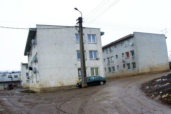 Orechov dvor v Nitre.