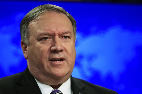 Americký minister zahraničia Mike Pompeo.