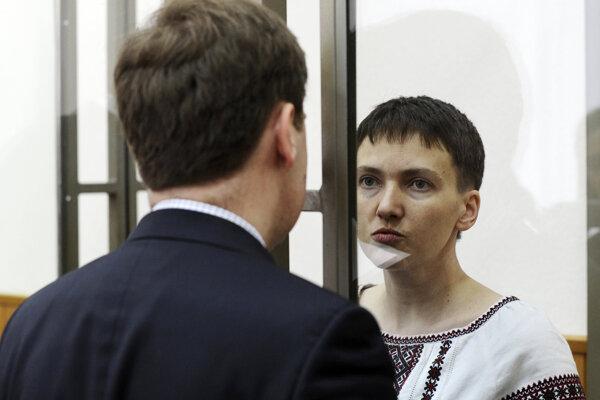 Nadija Savčenková vyhlásila od piatku hladovku.