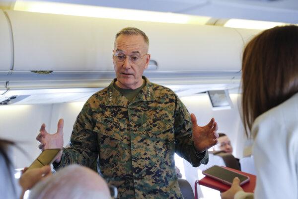 Predseda Zboru náčelníkov štábov ozbrojených síl USA Joseph Dunford.