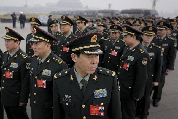 Čínska armáda, ilustračné foto.