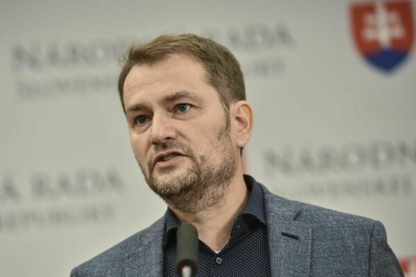 Igor Matovič, predseda hnutia OĽaNO.