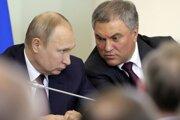 Vjačeslav Volodin je jeden z najbližších mužov ruského prezidenta Vladimira Putina.