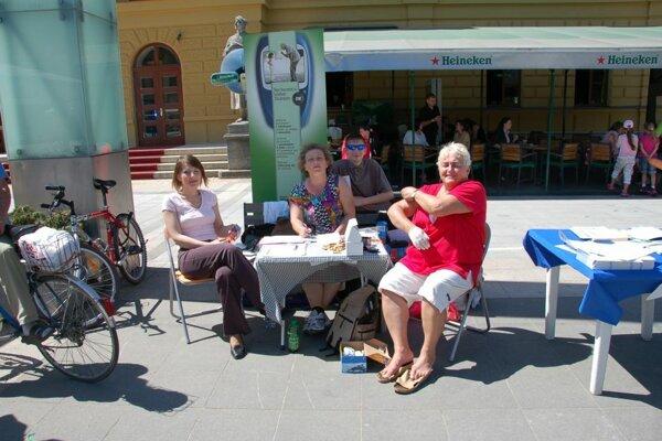 Jedno z edukačných podujatí Slovenského zväzu diabetikov Diamart v Martine.