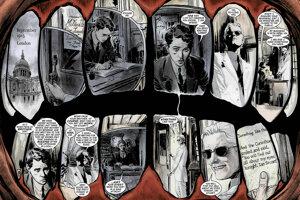 Snímka z komiksu Sandman (Neil Gaiman)