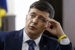 Televízny zabávač Volodymyr Zelenskyj.