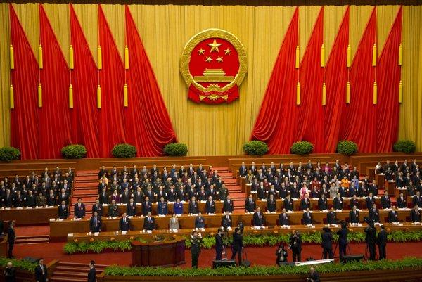 Takmer tritisíc delegátov sa zhromaždilo v takzvanej Veľkej sále ľudu.