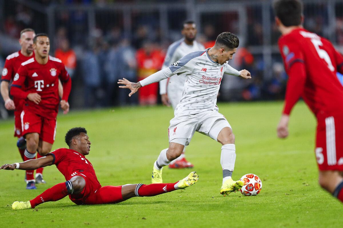 f7cccb0be8233 ONLNIE: Bayern Mníchov - FC Liverpool (Liga majstrov) - Šport SME