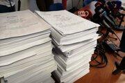Spis k vražde Kuciaka a Kušnírovej má 40 zväzkov a viac ako 15-tisíc strán.