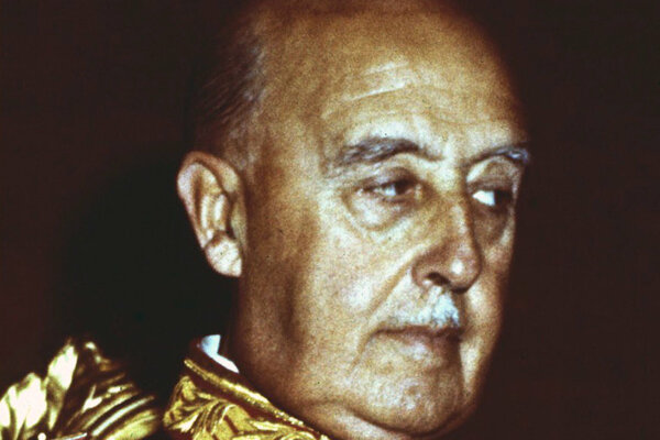 Španielsky generál a diktátor Francisco Franco v Španielsku vládol bez obmedzenia 36 rokov.