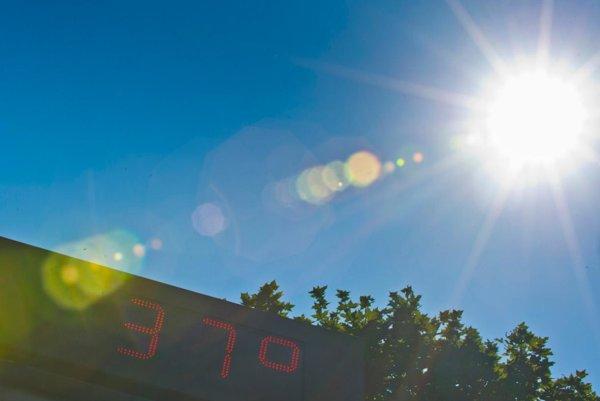 Teploty sa majú šplhať nad 30 stupňov. Ilustračné foto.
