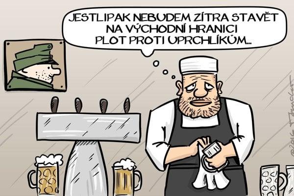 Česi s napätím sledujú slovenské voľby.