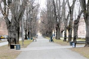 Park na Moyzesovej by mohol byť prvou Open Air Gallery v Košiciach.