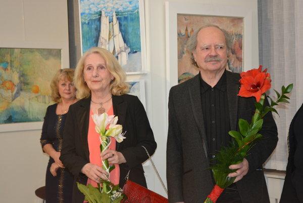 Manželia Feďkovičovci končia svoju výtvarnú tour na novomestskej pôde.