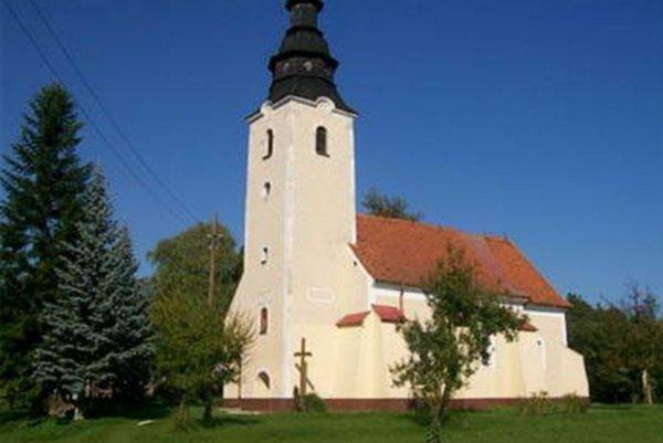 Kostol vo Vaďovciach.