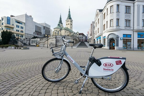 Bikesharing v Žiline.