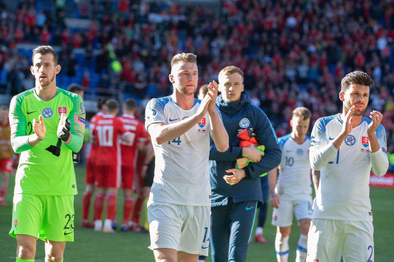 43646884f9785 FOTO: Wales zdolal Slovensko v kvalifikácii EURO 2020 - Šport SME