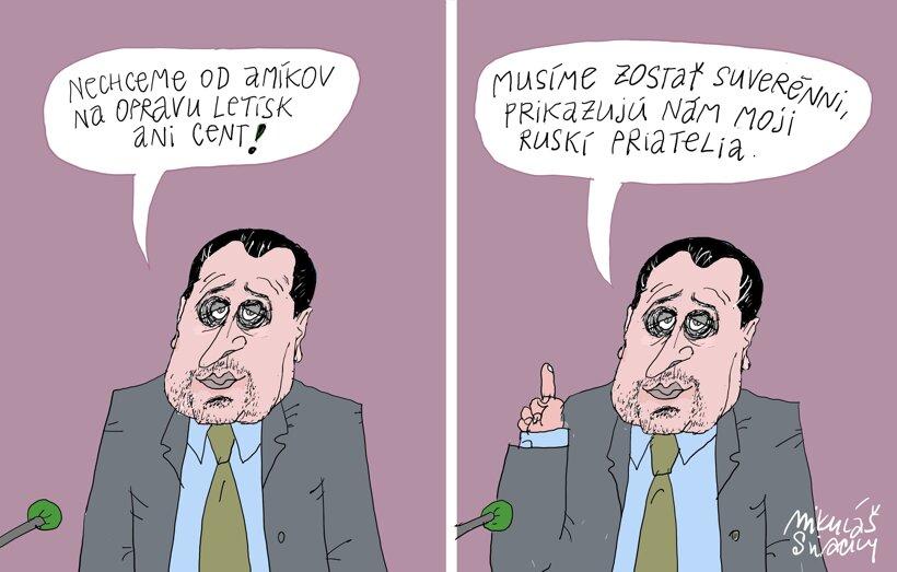Dankova suverenita (Sliacky) 24. marca