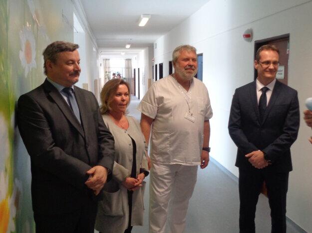 Psychiatrické oddelenie vGalante má 26 lôžok, vbudúcnosti ho plánujú ešte rozšíriť.
