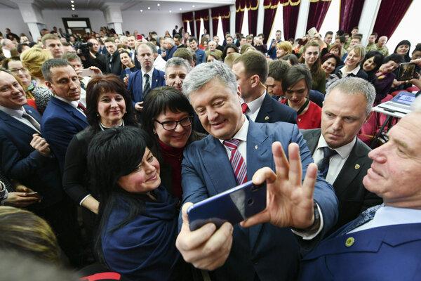 Súčasný ukrajinský prezident Porošenko.