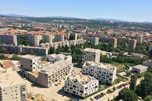 Nové byty vznikli v Košiciach aj na Terase.
