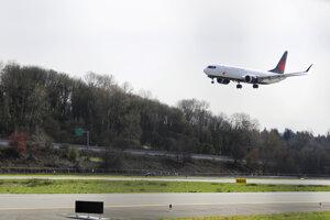 Lietadlo Boeing 737 Max 8.