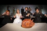 Pohreb alebo svadba - čo skôr? Činohra SND uvádza po prvý raz hru izraelského dramatika Chanocha Levina
