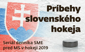 Príbehy slovenského hokeja.