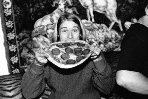 Nirvana vo Viedni v novembri 1989.