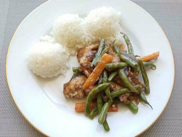 Kuracie rezance so zeleninou