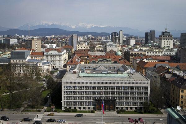 Centrum Ľubľany.