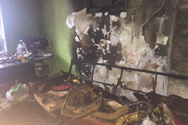 Požiar narobil poriadne škody, hasiči ich vyčíslili na 10-tisíc eur.