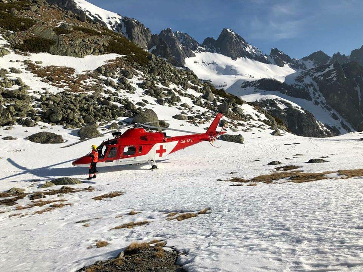 d2efacbfe8 Pri Zbojníckej chate v Tatrách sa zranil poľský skialpinista ...
